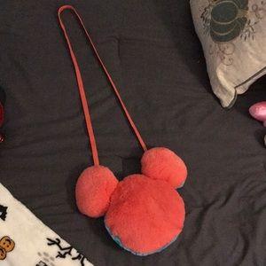 DisneyParks Kids Mickey Mouse Pass Bag